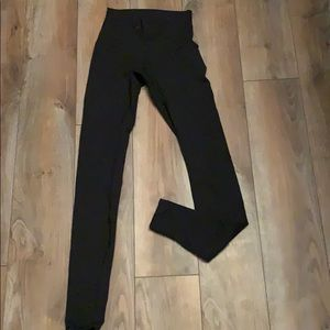 Lulu lemon black full length wonder under leggings